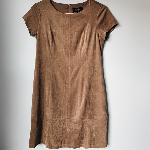 Jessica Simpson suede shift dress !